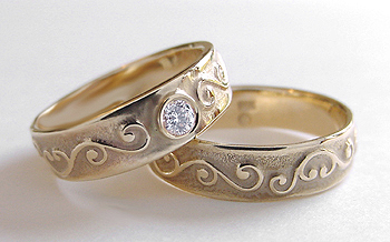 ancient wedding ring designs